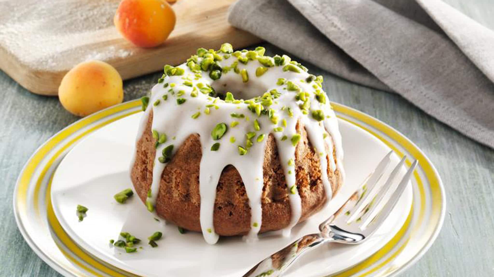 Kuchen mit Glasur